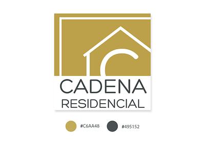 Cadena Residencial Logo logo design corporate adobe illustrator branding