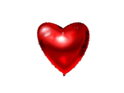 Heart raster design procreate illustration graphic design