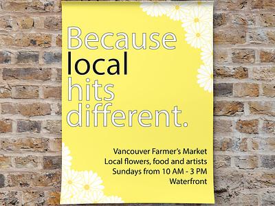 Farmer's Market illustration vector logo branding typography graphic design design