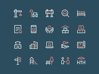 New Real Estate Icons