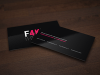 F4KE business cards