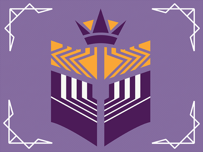 Romeo & Juliet // Escalus Crest crown royalty design logo crest kennedy center larp shakespeare juliet romeo