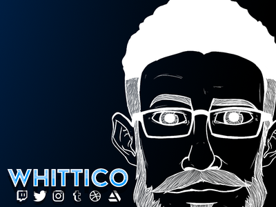Hello! wacom social drawing photoshop illustration sketch layout screen twitch overlay stream