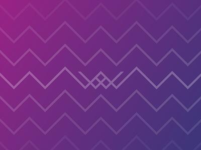 Whittico // Pattern background banner blue pink purple color gradient graphic design logo design print pattern