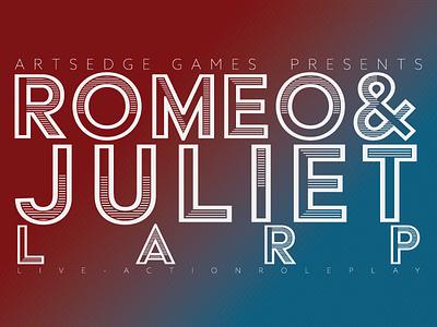 ArtsEdge Games // Romeo & Juliet LARP kennedy center education shakespeare capulet montegue juliet romeo live action role-play larp games artsedge