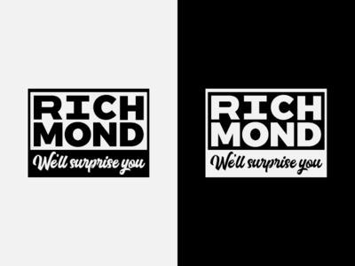 """Richmond, VA - """"We'll Surprise You"""" Campaign logo"""