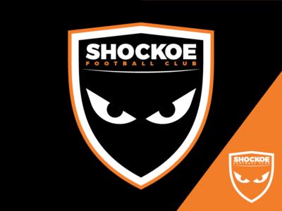 Shockoe FC Team Logo monster shockoe design team logo sports football soccer