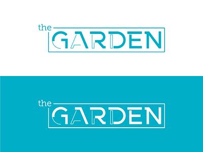 The Garden - Logo & Branding Color teal blue branding vector logo design