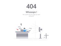 404 error-