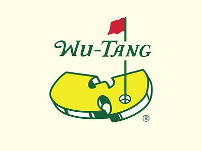 Wu-Mastas illustrator golf wu-tang logo design
