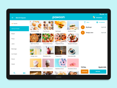 Pawoon POS - Android Tablet App