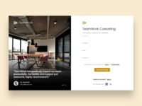Coworking Space Sign Up