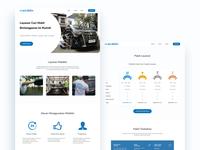 Mobiklin Landing Page