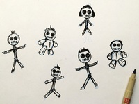 Cute Voodoo Dolls