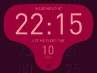 Alarm interface