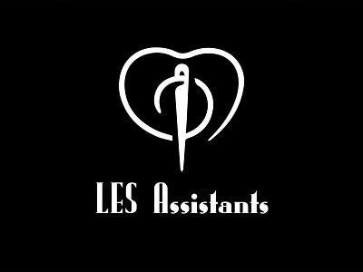 Logo for Les Assistants illustration graphic design 3d animation ui logo digital illustration design coloring branding art