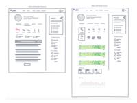Knowmetrics UI UX mockups part 2