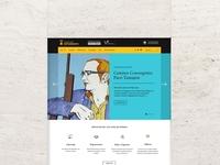 Casa del Estudiante. Web Design + Logo Design