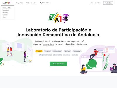 LAB 717 Web Design logo design web design