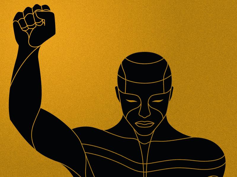 BLM fist black lives matter blacklivesmatter graphic design tribal african vector graphic illustrator illustration