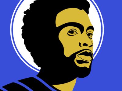 Chadwick Boseman rip homage illustrator illustration graphic vector actor chadwick
