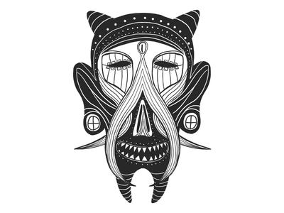 Happy mask.