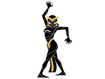Oshun  mask ifa candomble graphic oshun goddess religion african illustrator illustration
