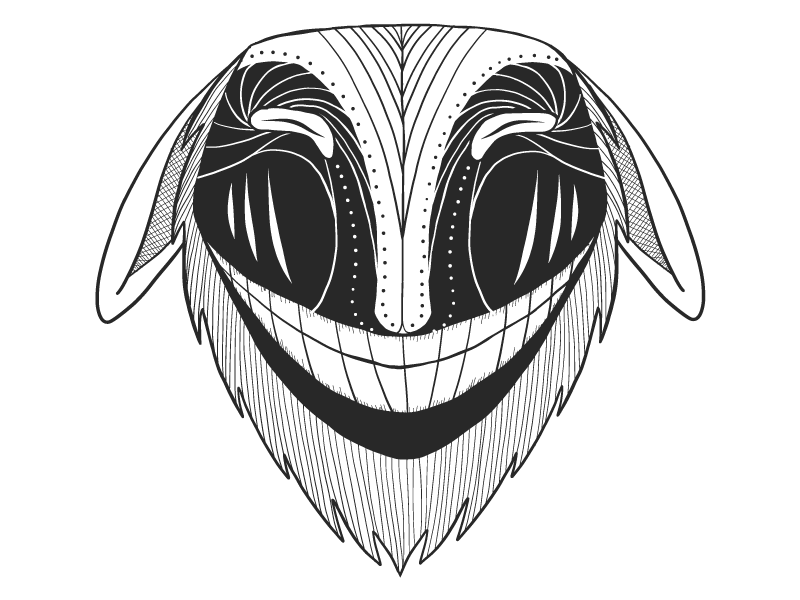 Laughing mask vector tribal mask illustrator illustration graphic design graphic drawing draw blackandwhite african