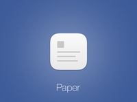 FB Paper iOS Icon
