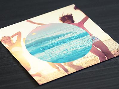 Invitation invitation party summer print square