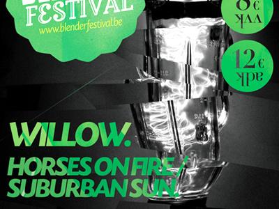 Blender Festival 2012 - poster print poster