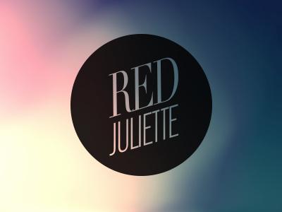 Red Juliette - rework logo