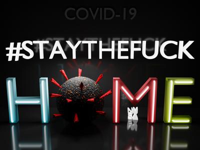 Stay Safe ❤️ staysafe covid render 3d blender