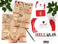 Hell Bull - Branding identidade visual identity graphic design logo design art direction branding