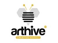 Arthive - Logo Design