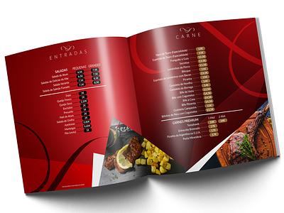 Menu Booklet Design
