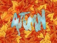 Autumn Illustration Type