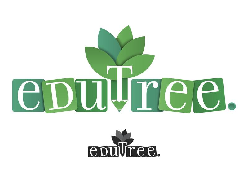Edutree - Logo Design logotype kids educational branding studio graphic design logo