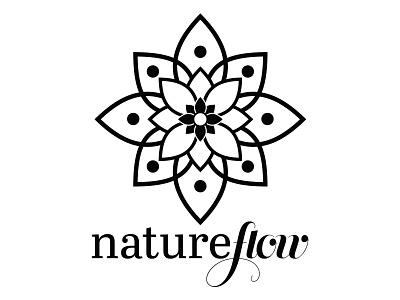 Natureflow - Logo Design logotype logotipo nature clean modern studio design graphic design graphic mandala logo