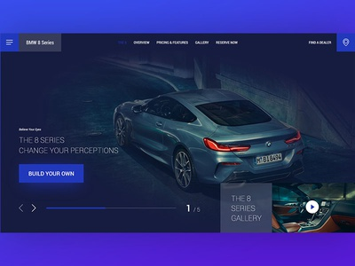 Daily UI #003 - Landing Page + 2 Dribbble Invites