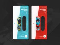 Skateboard shop app + 2 Dribbble Invites