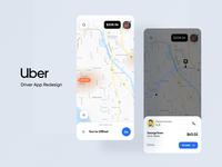 Redesign Uber Driver app