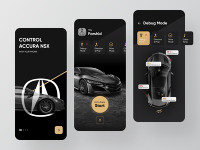 Acura NSX 2020 App