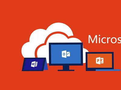 Tải Office 365 miễn phí – Hướng dẫn Active chi tiết [Từ A – Z] branding logo motion graphics graphic design 3d office