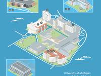 University of Michigan Medical School 3D Map
