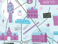 Jewellery Quarter Illustrated Map