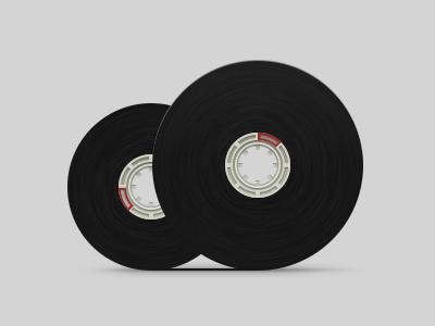 Tape icon tape icon simplify cloud cassette retro illustration realism reel sound music