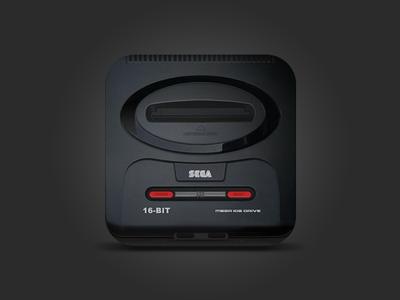 Sega Mega Drive 2 icon sega console icon ios