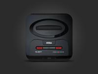 Sega Mega Drive 2 icon