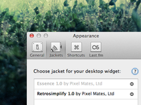 Preference pane icons for Simplify